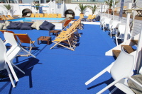 Eventboden in der Frankfurter Island Summer Lounge